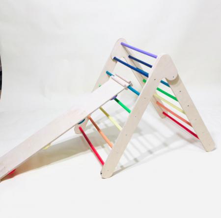 Triunghi PIKLER colorat + Rampa1