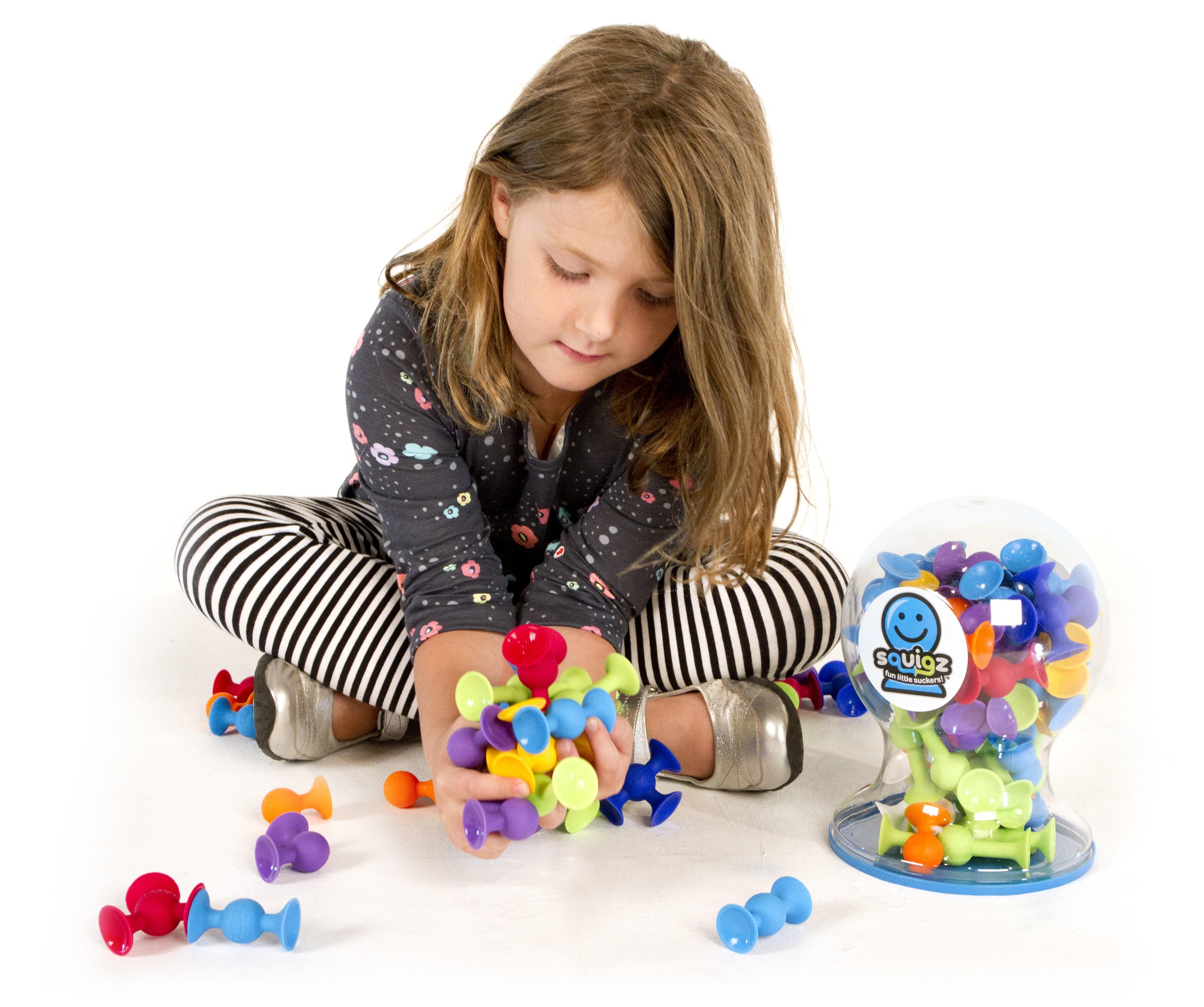 Joc de constructie Squigz Flexi Set - Fat Brain Toys 19
