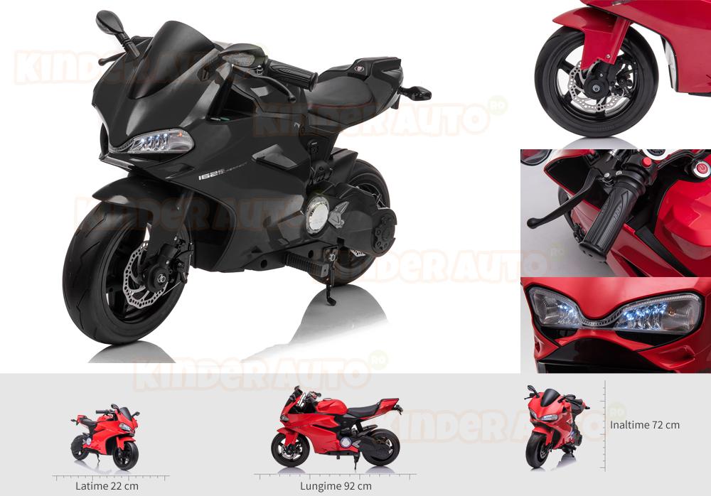 motocicleta electrica copii kinderauto