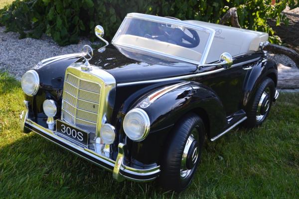 Mercedes 300S OldTimer, negru pentru copii 2-6 ani [1]
