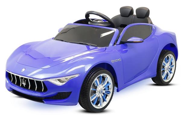 Masinuta electrica Maserati Alfieri 12V 2x35W CU ROTI MOI #Albastru 0