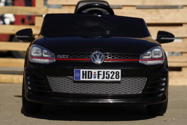 Masinuta electrica pentru copii VW Golf GTI negru 1