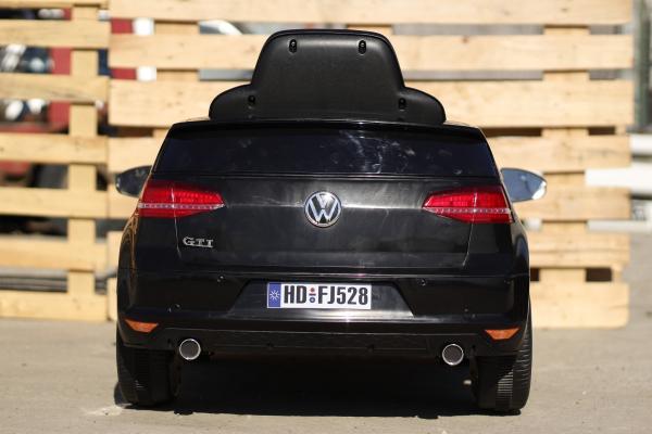 Masinuta electrica pentru copii VW Golf GTI negru 5