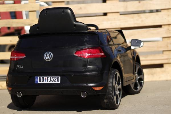 Masinuta electrica pentru copii VW Golf GTI negru 6