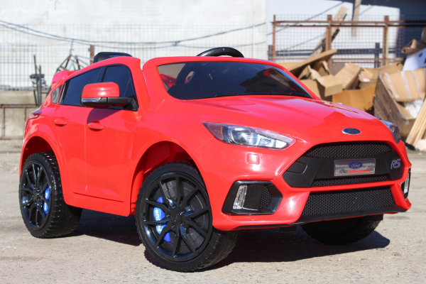 Kinderauto Ford Focus RS CU ROTI MOI #Rosu 1