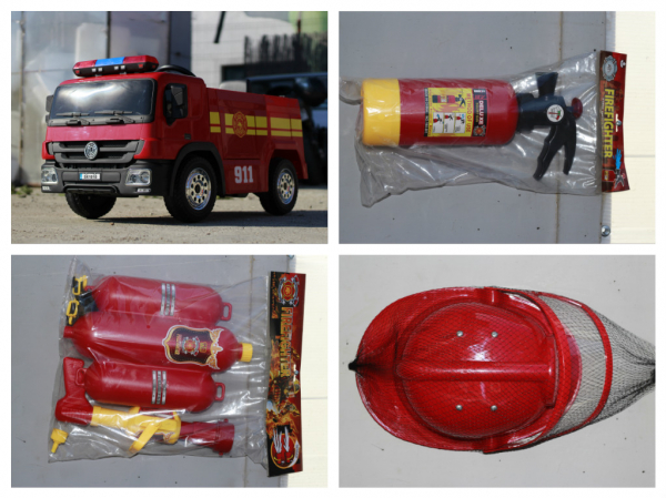 Masinuta electrica Pompieri Fire Truck Hollicy STANDARD #RED 6