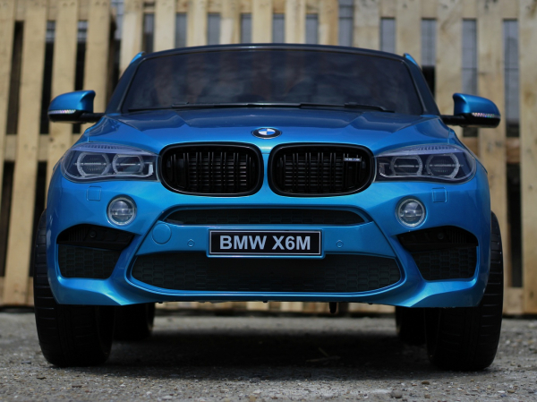 Kinderauto BMW X6M 12V XXL PREMIUM #Albastru 2