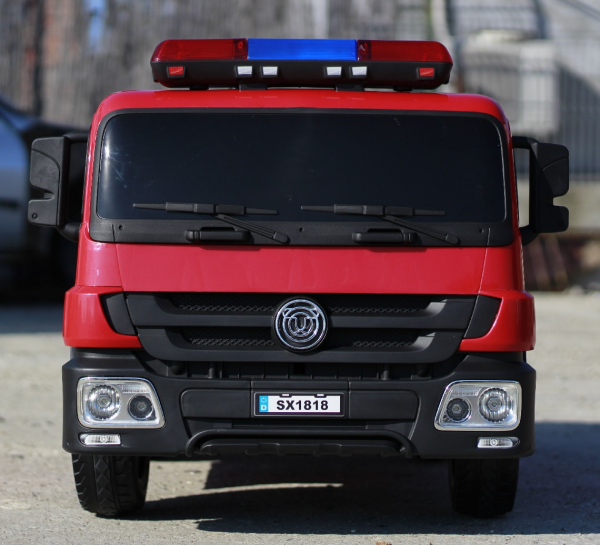 Masinuta electrica Pompieri Fire Truck Hollicy STANDARD #RED 3