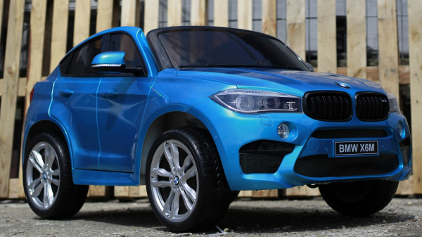 Kinderauto BMW X6M 12V XXL PREMIUM #Albastru 1