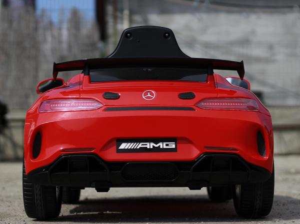 Masinuta copii electrica Mercedes GT-R AMG, rosie, 2x25W 4