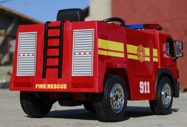 Masinuta electrica Pompieri Fire Truck Hollicy STANDARD #RED 2