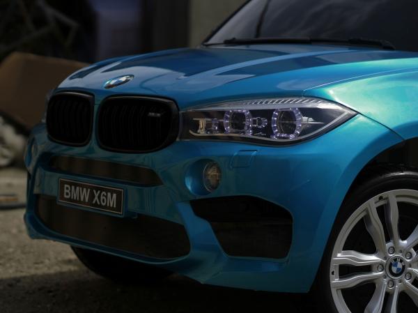 Kinderauto BMW X6M 12V XXL PREMIUM #Albastru 3