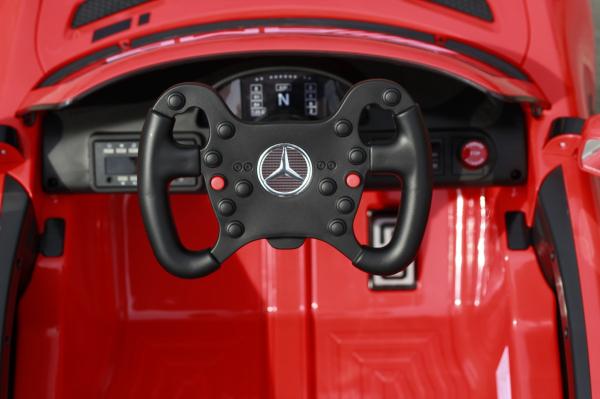 Masinuta copii electrica Mercedes GT-R AMG, rosie, 2x25W 5