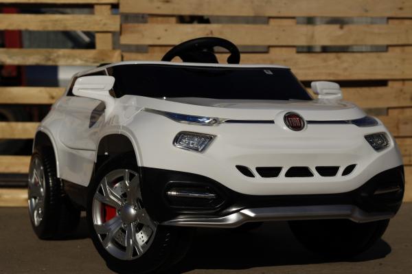 Masinuta electrica Fiat FCC4 2x25W 12V STANDARD #Alb 2
