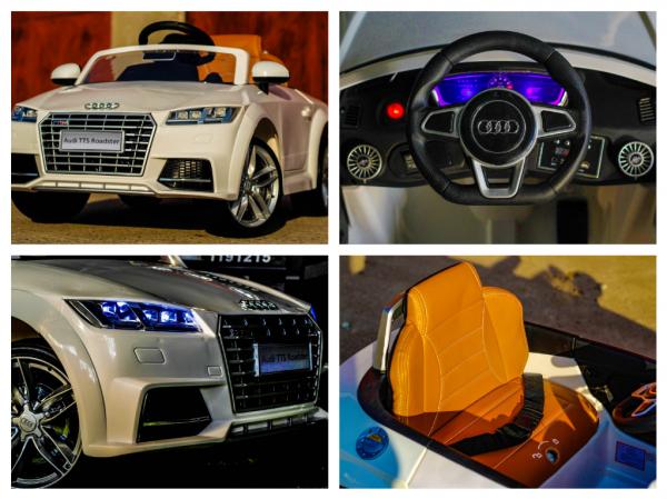 Kinderauto Audi TTS 2x 30W 12V PREMIUM #Alb 6