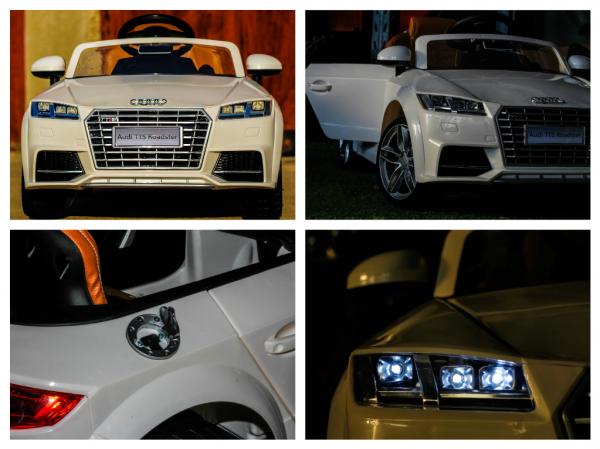 Kinderauto Audi TTS 2x 30W 12V PREMIUM #Alb 7