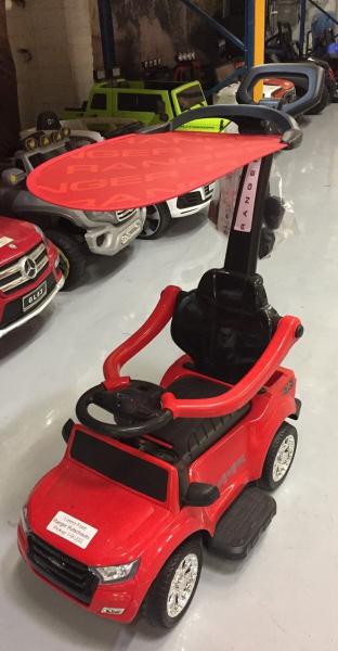 Carut pentru plimbat copii 2 in 1 Ford Ranger STANDARD #Rosu 1