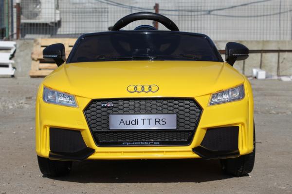 Kinderauto Audi TT RS 2x 30W STANDARD 12V #Galben 1