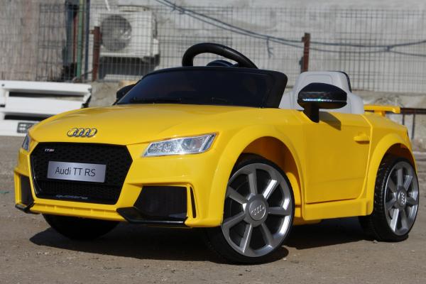 Kinderauto Audi TT RS 2x 30W STANDARD 12V #Galben 2