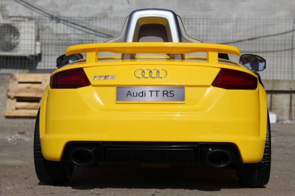Kinderauto Audi TT RS 2x 30W STANDARD 12V #Galben 3