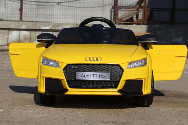 Kinderauto Audi TT RS 2x 30W STANDARD 12V #Galben 4
