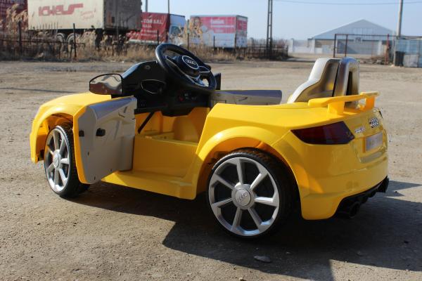 Kinderauto Audi TT RS 2x 30W STANDARD 12V #Galben 6
