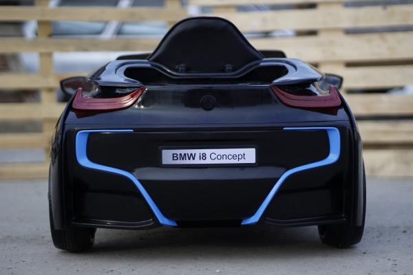 Masinuta electrica pentru copii BMW i8, 2-7 ani, negru 4