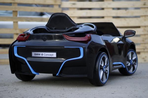 Masinuta electrica pentru copii BMW i8, 2-7 ani, negru 5