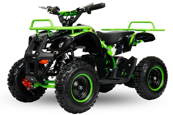 Mini ATV Electric Eco Torino Deluxe 1000W 48V cu 3 Trepte de Viteza #Verde 0