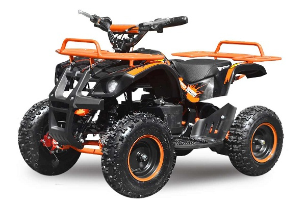 Mini ATV electric NITRO Torino Quad 1000W 36V LITHIU-ION #Portocaliu 0