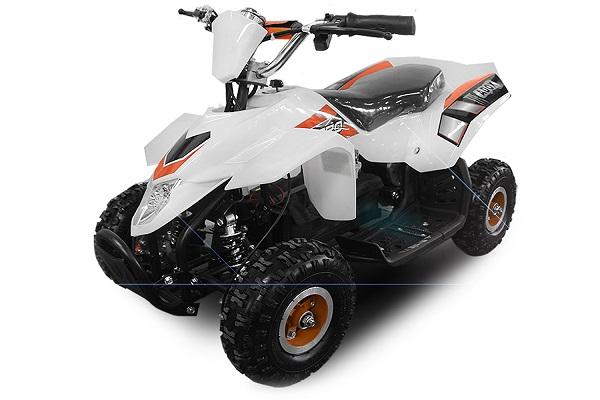 ATV electric ECO Maddox 800W 36V cu 3 Viteze #Galben 0
