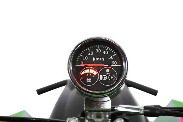 ATV electric ECO Bigfoot 800W 36V cu Baterie Detasabila SI FAR cu LED #Verde [6]