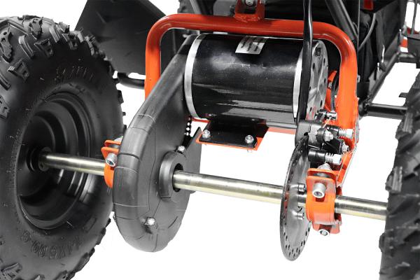 ATV electric NITRO Eco Avenger 1000W 48V 6 inch #Portocaliu 4