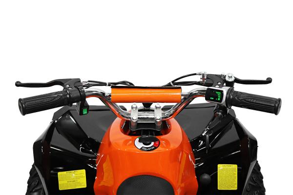 ATV electric NITRO Eco Avenger 1000W 48V 6 inch #Portocaliu 7