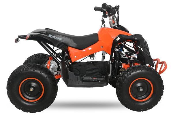 ATV electric NITRO Eco Avenger 1000W 48V 6 inch #Portocaliu 1