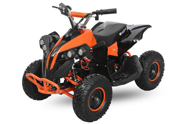 ATV electric NITRO Eco Avenger 1000W 48V 6 inch #Portocaliu 8