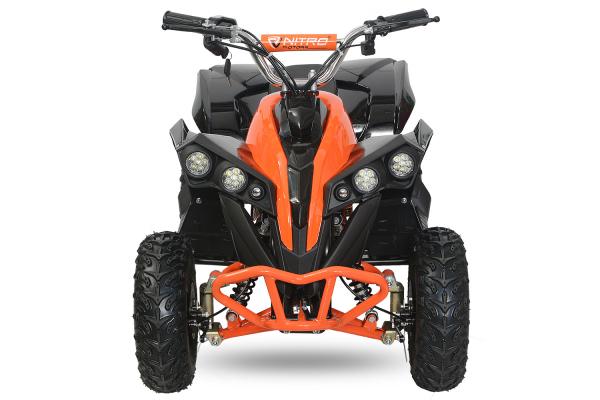 ATV electric NITRO Eco Avenger 1000W 48V 6 inch #Portocaliu 2