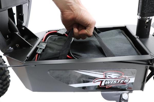 Trotineta electric Twister Crosser X1 1000W 36V 10 Inch 8