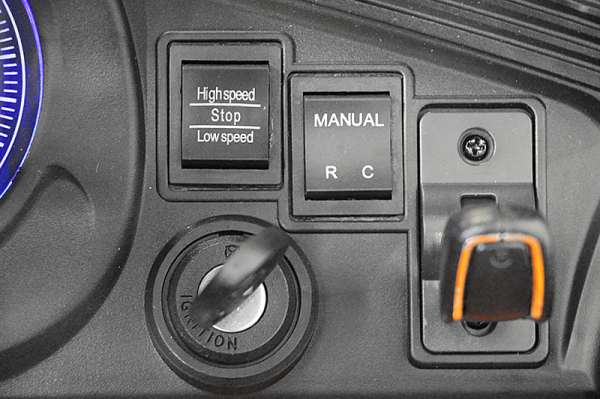 Kinderauto Jaguar F Type cu ROTI MOI 2x 35W 12V #Portocaliu 8