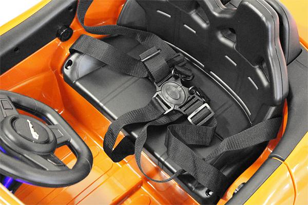 Kinderauto Jaguar F Type cu ROTI MOI 2x 35W 12V #Portocaliu 4