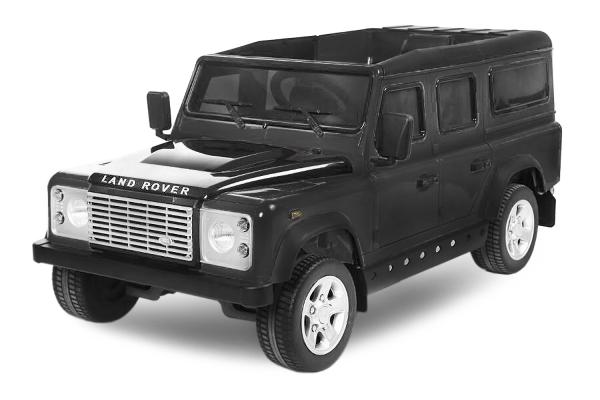 Masinuta electrica Land Rover Defender 2x35W 12V cu ROTI MOI #Negru 0