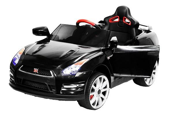 Masinuta electrica Nissan GTR R35 STANDARD 2x 35W 12V #Negru 0