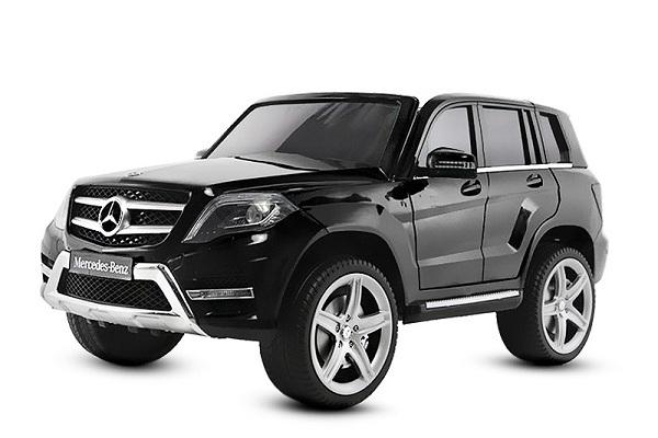 Mercedes GLK premium negru, masinuta electrica copii 0