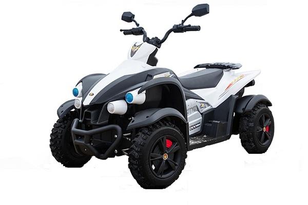 ATV Electrica pentru copii Dooma EVA - Quad 2x 45W 12V #Alb 0