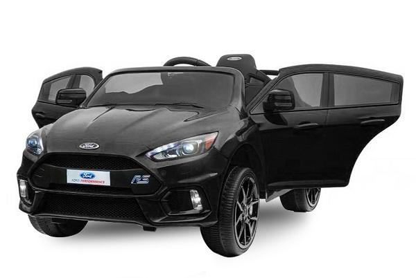 Masinuta electrica pentru copii Ford Focus RS negru [0]