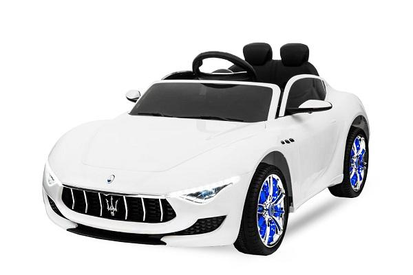 Masinuta electrica Maserati Alfieri CU ROTI MOI 12V 2x35W #Alb 0