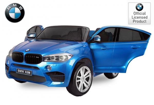 Kinderauto BMW X6M 12V XXL PREMIUM #Albastru 0