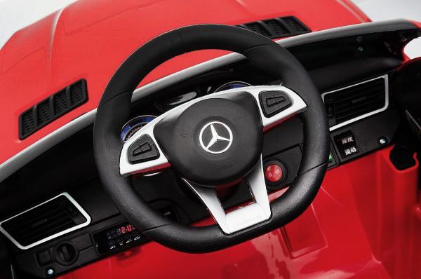 Masinuta electrica Mercedes GLE63S 2x22W 12V PREMIUM #Rosu 6