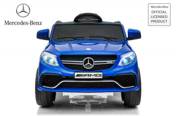 Masinuta electrica pentru copii Mercedes GLE 63S, albastra [0]