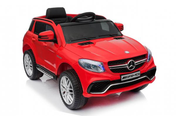 Masinuta electrica Mercedes GLE63S 2x22W 12V PREMIUM #Rosu 1